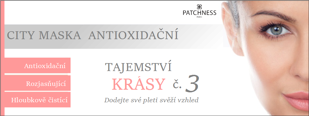 PAtchness city maska antioxidační