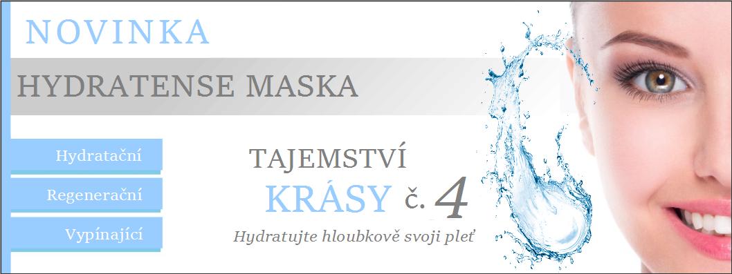 Hydratense hydratační maska